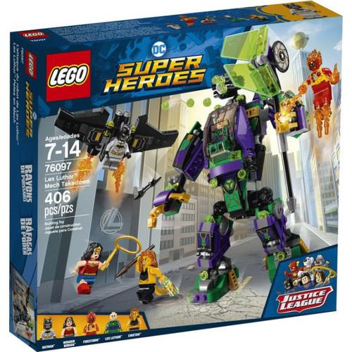 LEGO Super Heroes DC Comics Lex Luthor Mech Takedown 76097