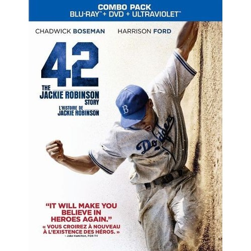 42 [2 Discs] [Includes Digital Copy] [UltraViolet] [Blu-ray/DVD] [2013]