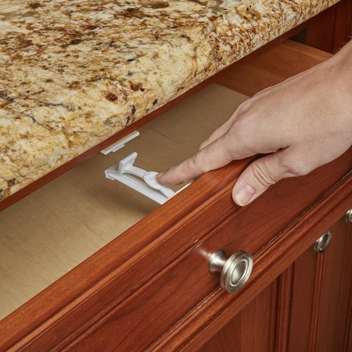 Babies R Us Baby Cabinet and Drawer Latches - 12 Pack