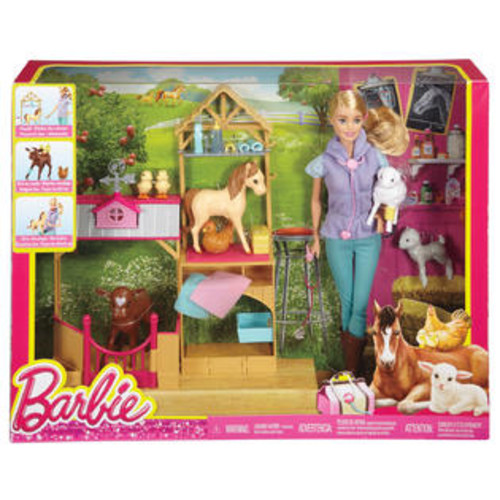 Mattel BARBIE FARM VET PLAYSET