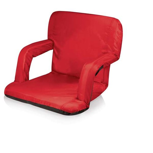 Picnictime Ventura Seat Portable Recliner Chair Red