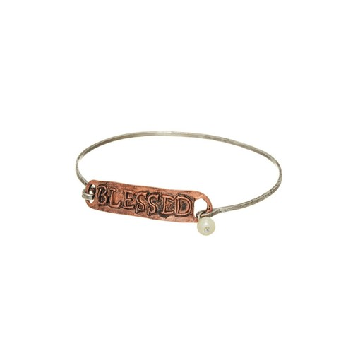 Two-Tone Blessed Bangle