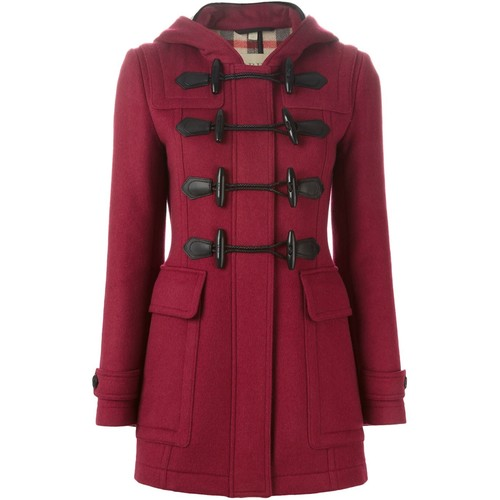 BURBERRY BRIT Hooded Duffle Coat