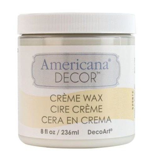 DecoArt Americana Decor 8 oz. Clear Creme Wax