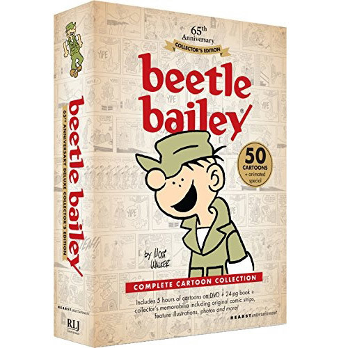 Beetle Bailey: 65th Anniversary Collector's Edition - Complete Cartoon Collection (Full Frame)