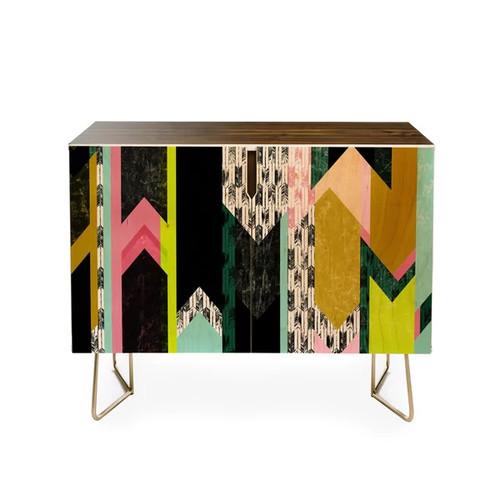 Deny Designs Bookshelves & Bookcases Pattern State Arrow Vista Credenza