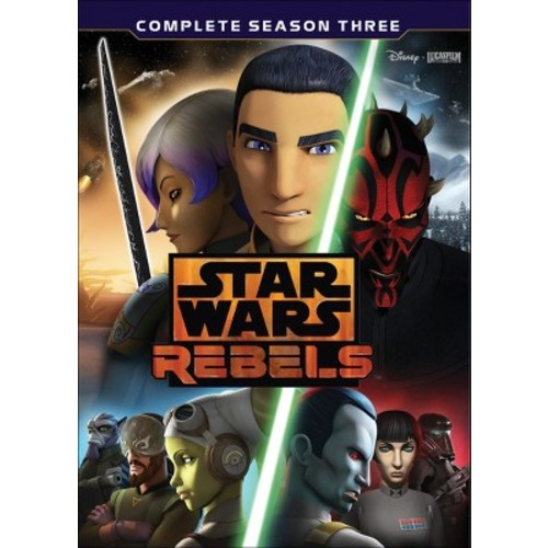 Star Wars Rebels: The Complete Season 3 (DVD)