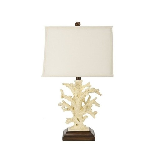 Safavieh Coral Table Lamps (Set of 2) in White