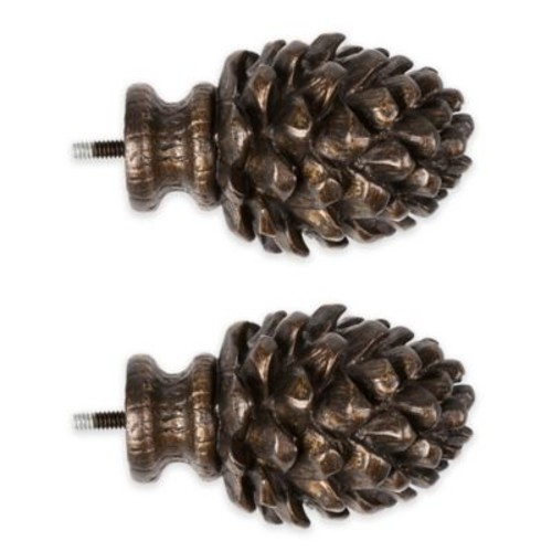 Cambria Premier Complete Decorative Pinecone Finial