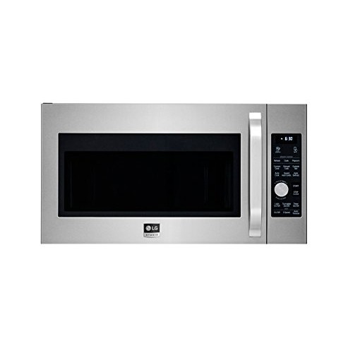 LG Studio Over-the- Range Microwave Oven - Stainless Steel
