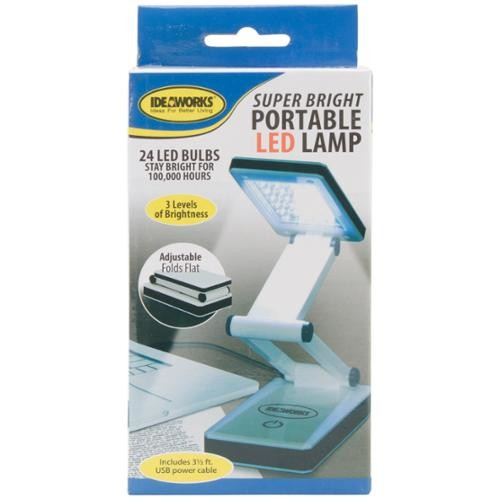 Super Bright Portable LED Lamp-White