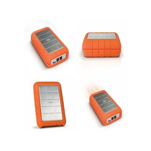 LaCie Rugged Triple 1TB USB 3.0 / Firewire 800 Transfer Rate up to 80MB/s Portable Hard Drive
