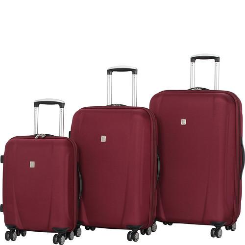 it luggage Savanna Frameless 3 Piece Expandable Spinner Luggage Set