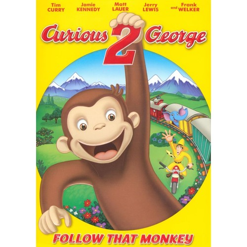 Curious George 2: Follow That Monkey! [DVD]