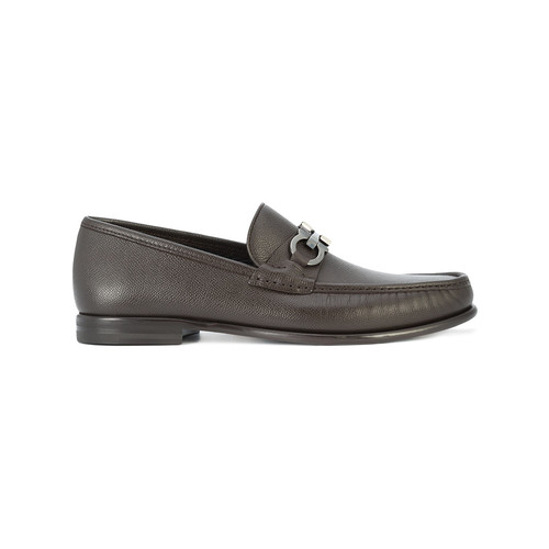 Gancini bit loafers