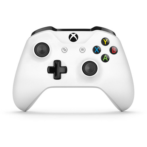 Microsoft Xbox One Wireless Controller, White (Certified Refurbished)