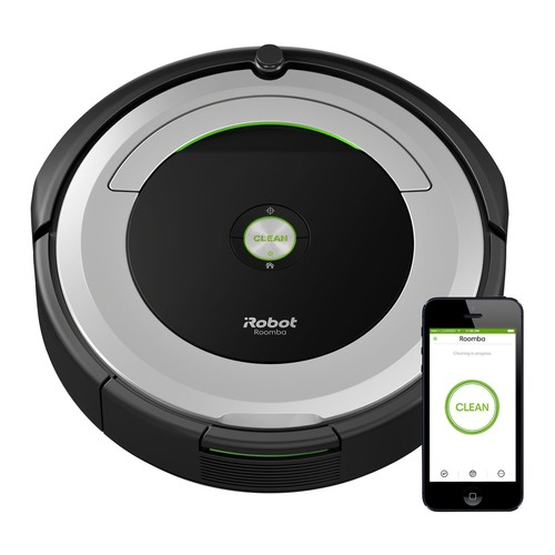 iRobot Roomba 690 Wi-Fi Connect Robotic Vacuum \u0026 Accessory Kit