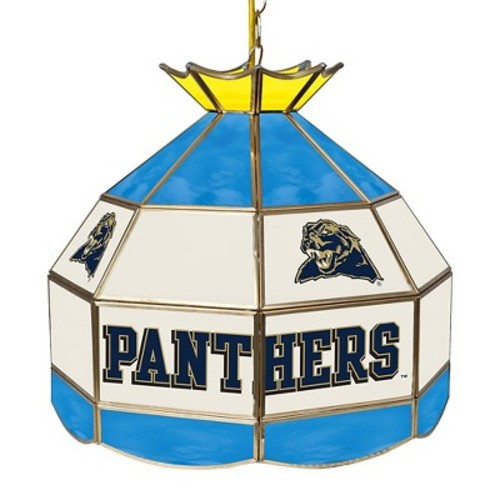 NCAA Pitt Panthers Stained Glass Lamp - 16