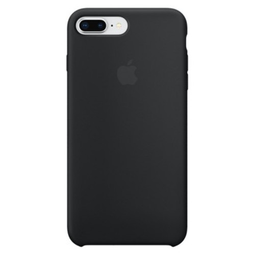 Apple Silicone Case for iPhone 8 Plus/7 Plus - Black