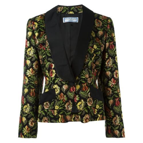 YVES SAINT LAURENT VINTAGE Tapestry Jacket