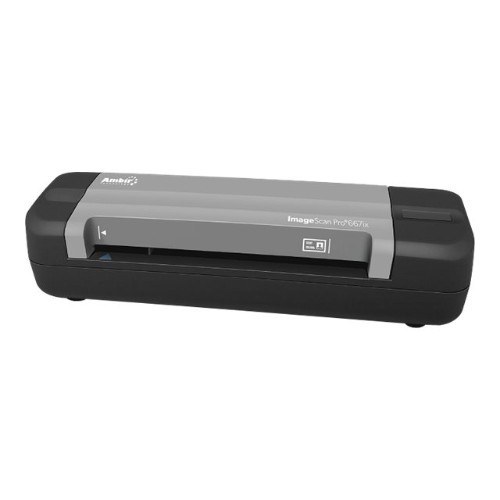 Ambir Technology ImageScan Pro 667ix - For Athena Users - sheetfed scanner - 4.13 in x 10 in - 600 dpi - USB 2.0 (PS667IX-A3P)