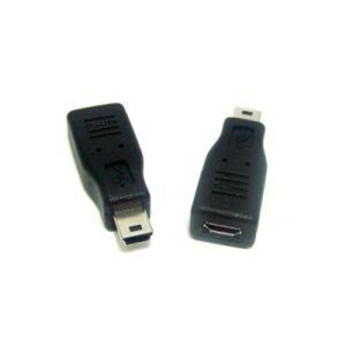 Micro Connectors Mini USB Male to Micro USB Female Adapter