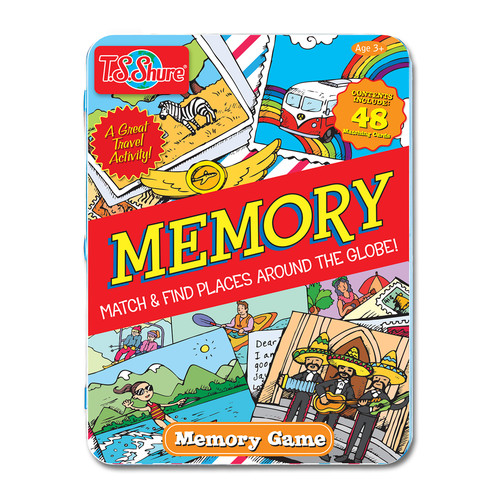 Memory Game Tin by T.S. Shure