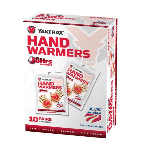 YAKTRAX Handwarmers, 10-Pack