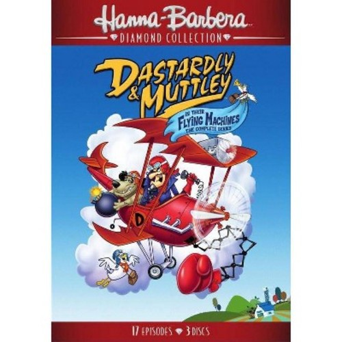 Dastardly & Muttley in Their Flying Machines: The Complete Series [DVD]