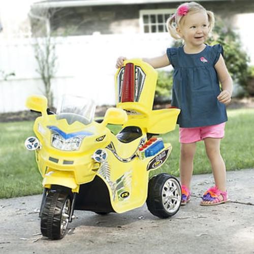 Lil' Rider 3-Wheel FX Sport Bike - Yellow