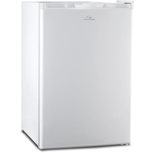 Commercial Cool 4.5 Cu Ft Compact Refrigerator/Freezer, White