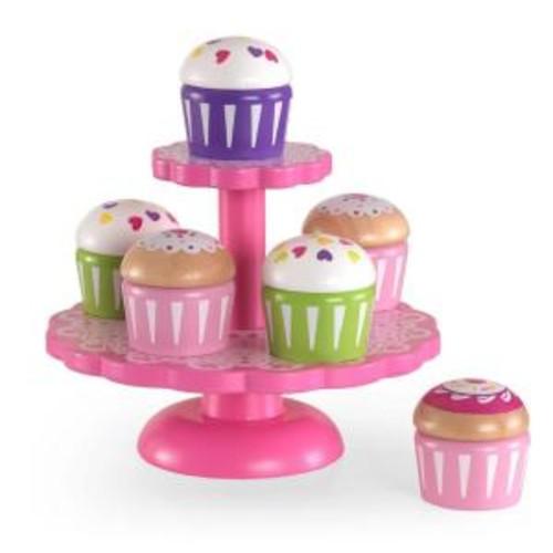 KidKraft Cupcake Stand with Cupcakes Playset