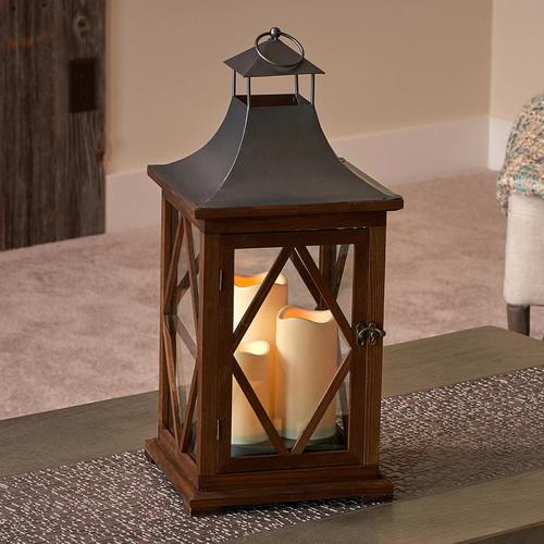 Smart Living Portland Triple LED Candle Lantern
