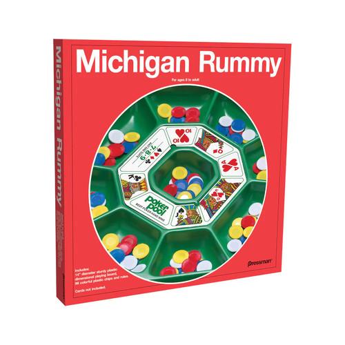 Michigan Rummy Game by Pressman Toy