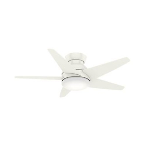 Casablanca Fan 44'' Isotope 5 Blade Fan; Fresh White
