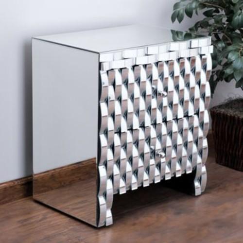 Home Loft Concepts Memphis 2 Drawer Cabinet