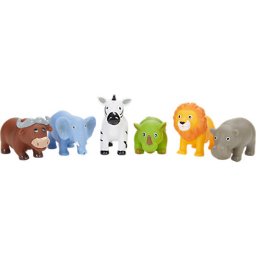 Elegant Baby Jungle Party Bath Squirties Toy Set