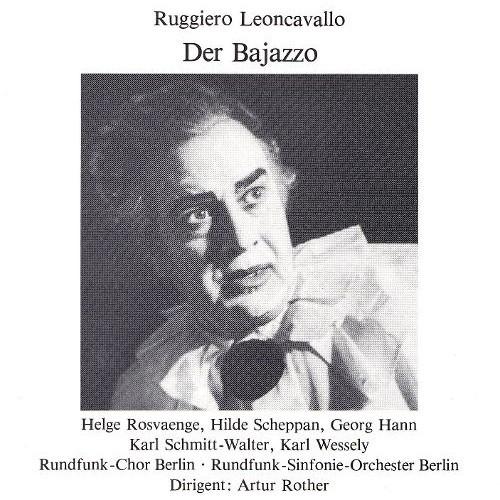 Der Bajazzo CD (1990)