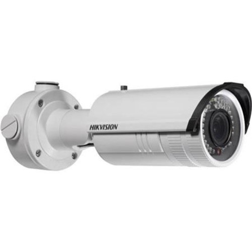 Hikvision IR Bullet Camera DS-2CD2612F-IS - Network surveillance camera - outdoor - weatherproof - color ( Day&Night ) - 1.3 MP - 1280 x 960 - f14 mount - vari-focal - audio - 10/100 - MJPEG, H.264 -