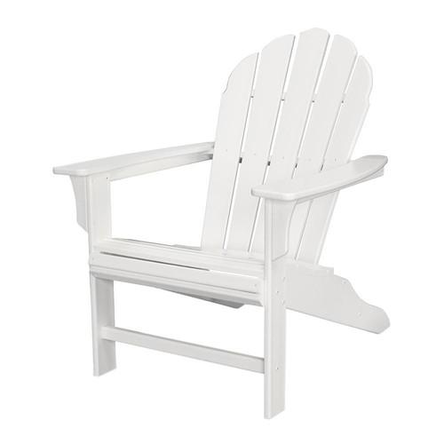 Trex Outdoor Furniture HD Classic White Patio Adirondack Chair