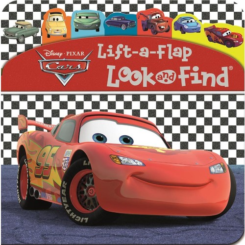 Disney Pixar Cars 3 Lift-a-Flap Look and Find Board Book