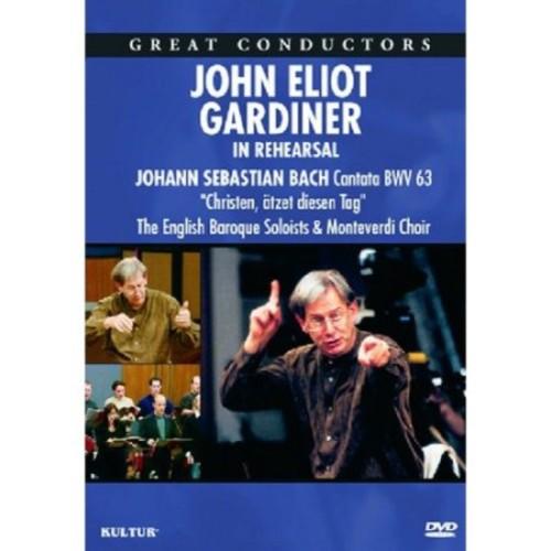 Great Conductors: John Eliot Gardiner - In Rehearsal [DVD] [English] [2009]