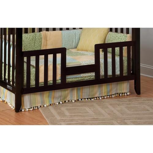 Child Craft Logan Toddler Guard Rail for Lifetime Convertible Crib, Jamocha [Jamocha]