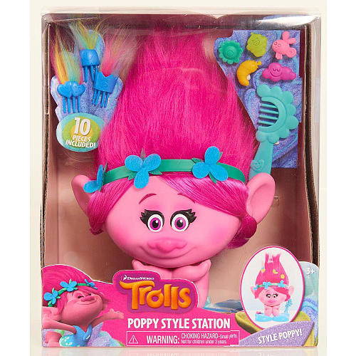 DreamWorks Trolls Poppy Styling Station