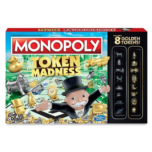 Monopoly Token Madness Board Game