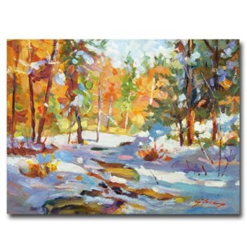 Trademark Fine Art 'Snowy Autumn' 24