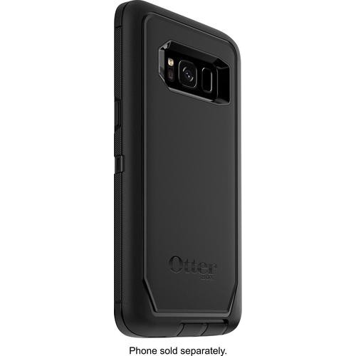 OtterBox - Defender Series Case for Samsung Galaxy S8 - Black