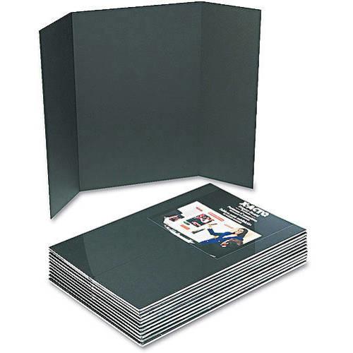 Elmer's Tri-Fold Premium Foam Display Board, Black, 36x48 Inch [Black, 1-Pack]