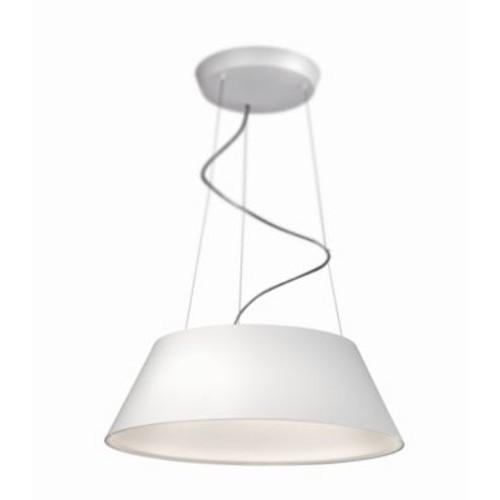 Philips Cielo 4-Light Drum Pendant; White