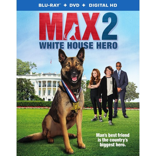 Max 2: White House Hero [Blu-ray] [2017]